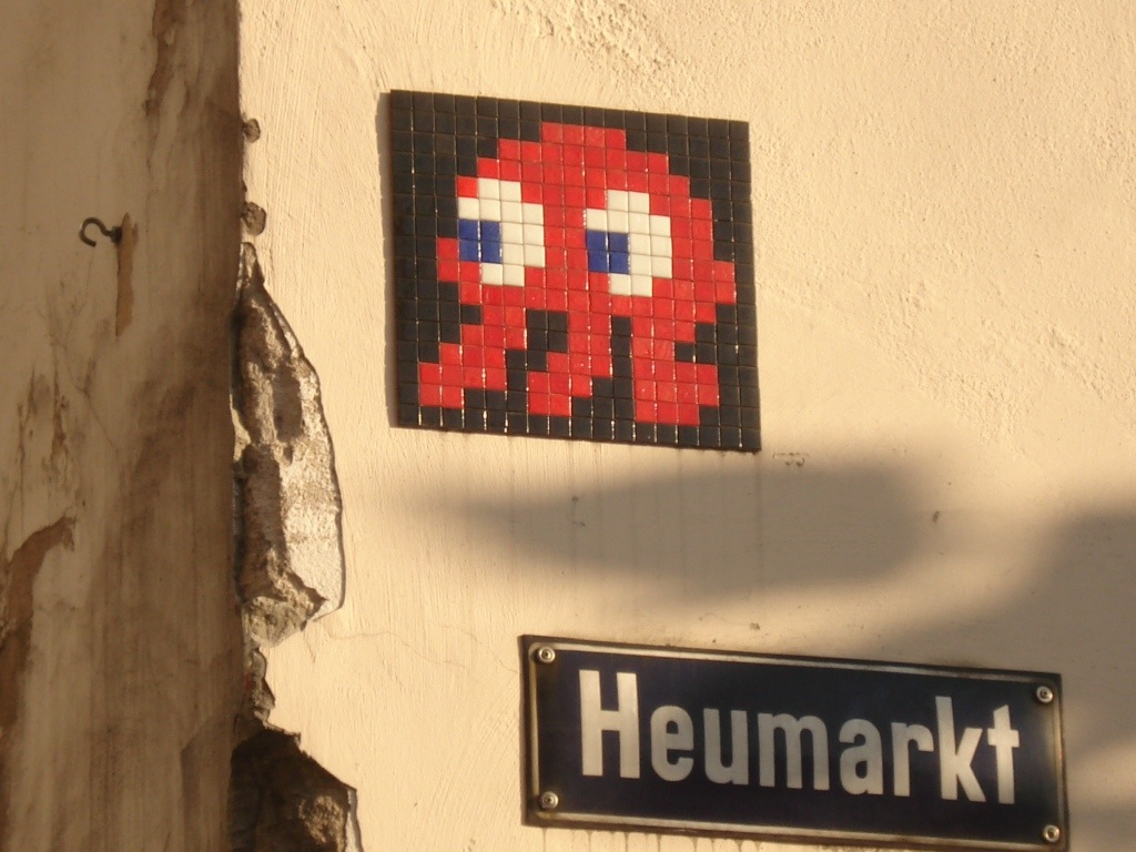 Space Invader in Cologne, Germany | The Spadina Monologues